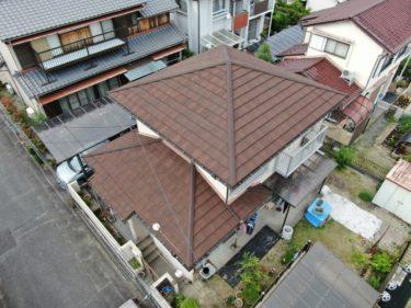 セメント瓦屋根の葺き替え